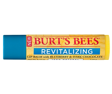 Burt's Bees Revitalising Lip Balm with Blueberry and Dark Chocolate