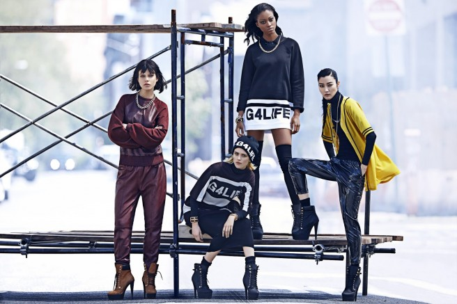 River Island collaborates with Rhianna for their AW13 collection
