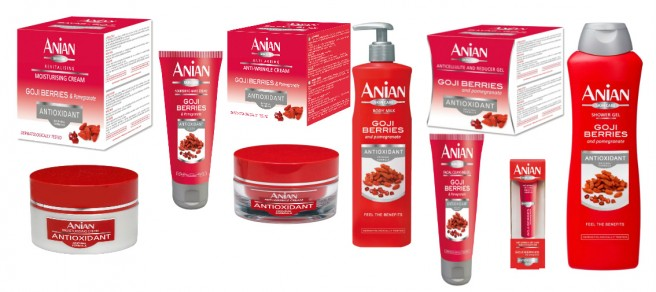 Spanish Skincare Range Anian