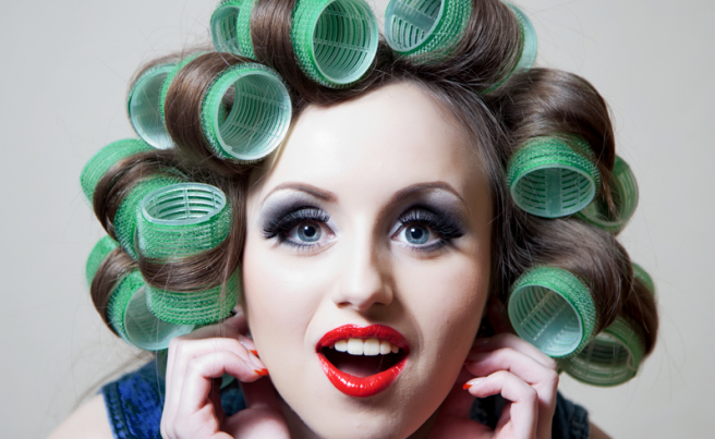 How to use old school hair rollers | SHEmazing!