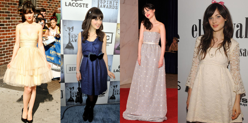 zooey collage