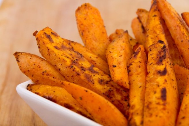 Oven-baked sweet potato wedges | SHEmazing!