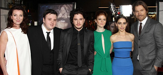 Hannah Murray and john bradley