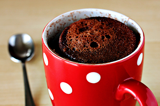minute chocolate mug cake | SHEmazing!