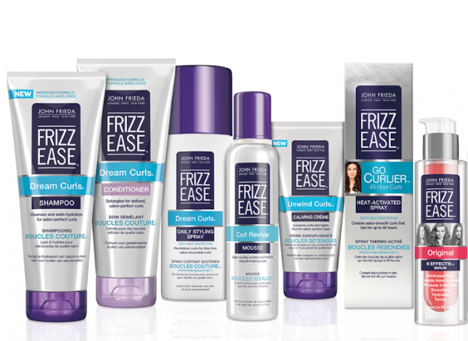 john frieda introduces new look frizz ease collection. Black Bedroom Furniture Sets. Home Design Ideas