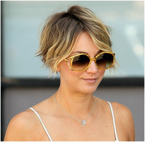 Kaley cuoco reveals celebrity inspiration behind that pixie cut