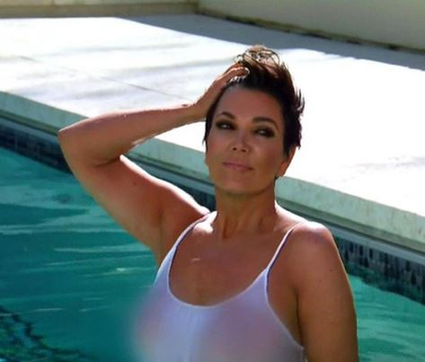 kardashians disgusted over kris jenner s nearly nude photo