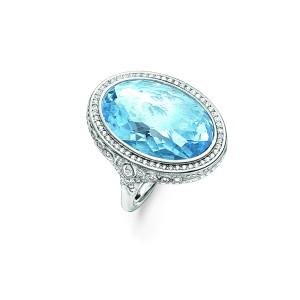 Aqua Quartz Eternity of Love Ring  €379