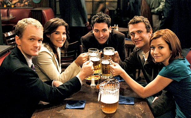 How I Met Your Mother Friends Episode : The types of people in every group friends shemazing