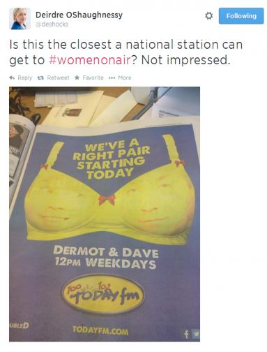 Radio duo face the wrath of Twitter after THIS ad campaign