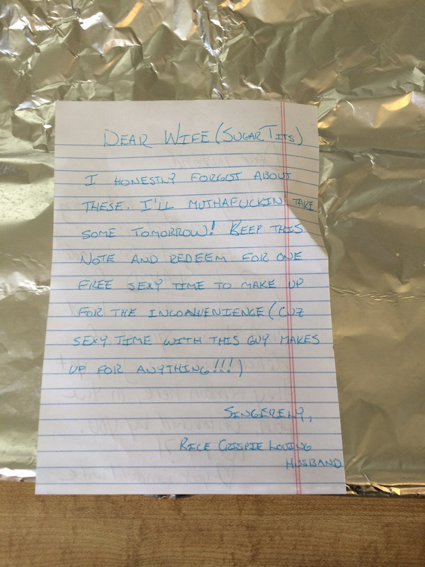 these funny love letters show what marriage is really like