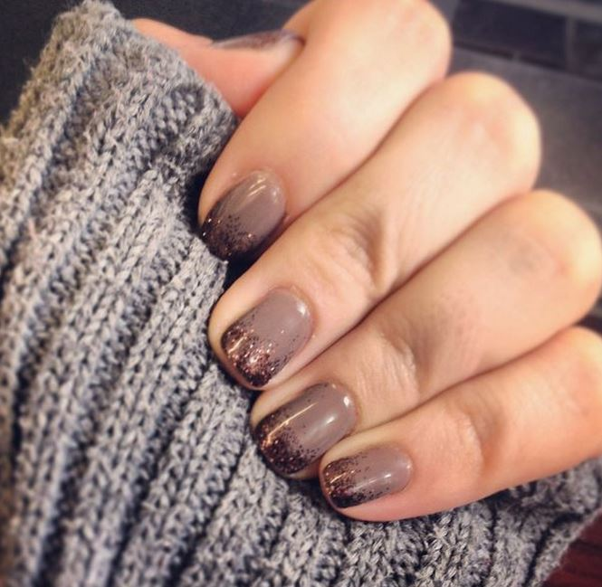 Gorgeous Autumn Inspired Nails: Autumn-inspired Nail Art To Cheer Up Those Colder Days