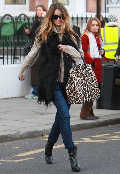 how to wear faxu fur