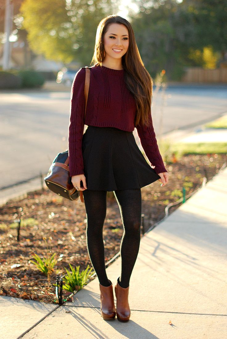 Short and sweet: how to wear cropped sweaters! | SHEmazing!