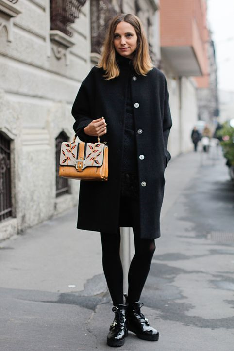 Simple ways to style your basic black coat this winter! | SHEmazing!