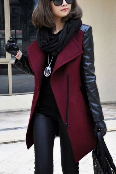 Find wool leather sleeve coat women at ShopStyle. Shop the latest collection of wool leather sleeve coat women from the most popular stores - all in.