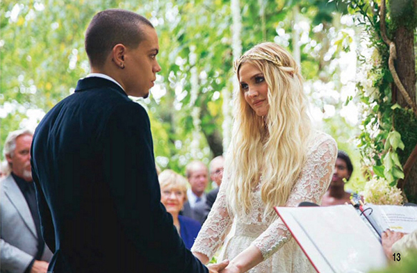Ashlee simpson shemazing reflecting on the last twelve months in an interview in december actor and musician evan said i got married i have new music and im part of hunger junglespirit Choice Image