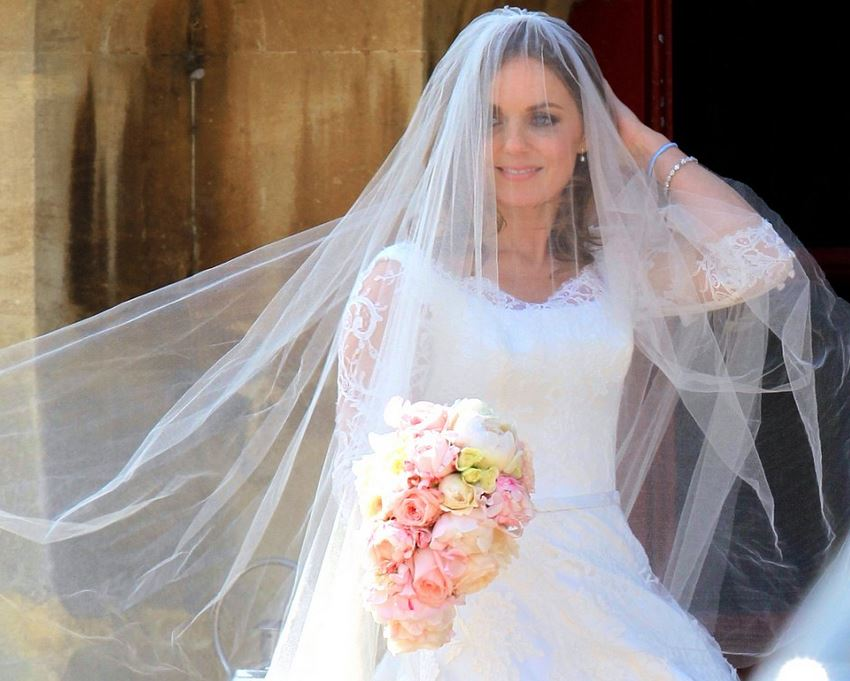 Geri Halliwell Looked Simply Perfect On Her Big Day Shemazing