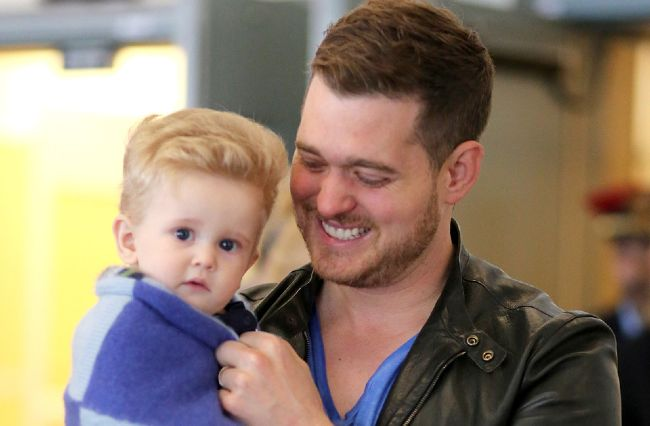 It has been reported that michael buble s son noah has been rushed