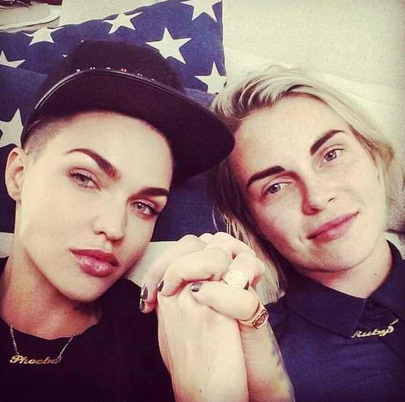 Is Ruby Rose Really A Married Woman Chris Brown S Ex