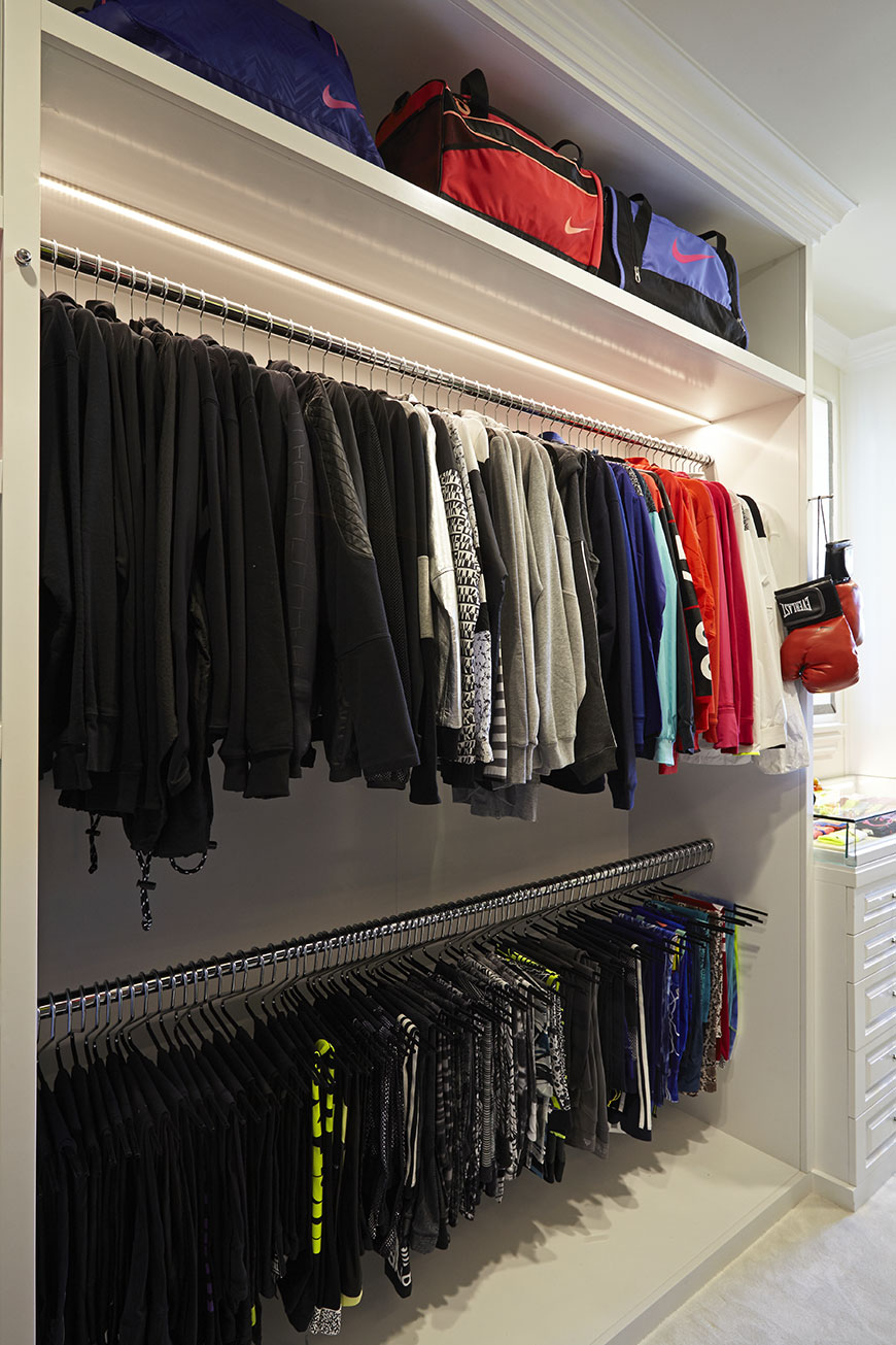 ALL The Photos Khloe Kardashians INCREDIBLE Walk In Fitness Closet
