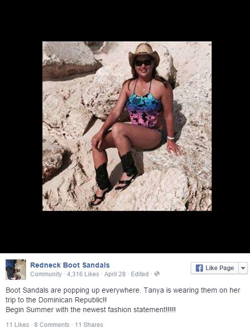 Redneck Boot Sandals Shemazing