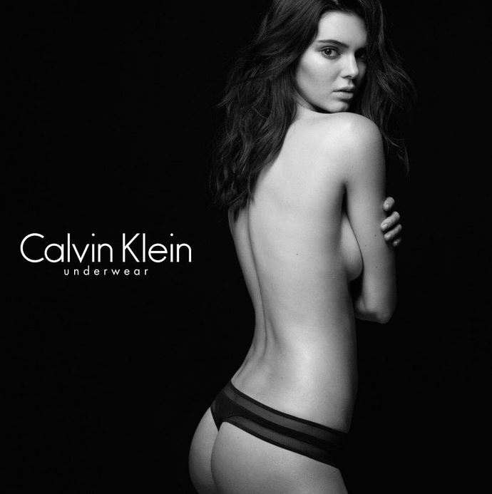 1f1296796d Kendall is the current face (and body) of Calvin Klein underwear