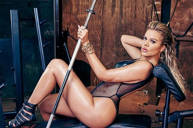 ALL The Photos Khloe Kardashians INCREDIBLE Walk In Fitness Closet