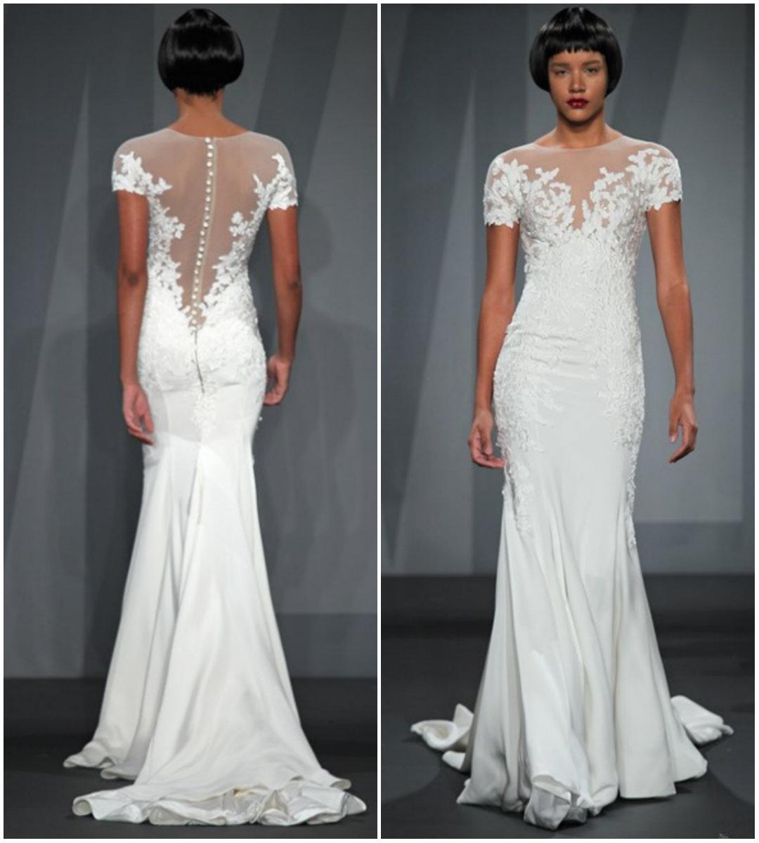 Jennifer Aniston Wedding Dress Pictures: Jen Aniston's Gown Was Unveiled In April… On Say Yes To