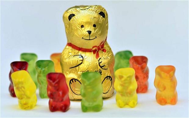 a comparison between the gummy bear candies of haribo company and its competitors Herentrui met breinaalden 9 of 10 in roma big of roma big rainbow van scheepjes® correctie er staat een foutje in de beschrijving bij de mouwen.