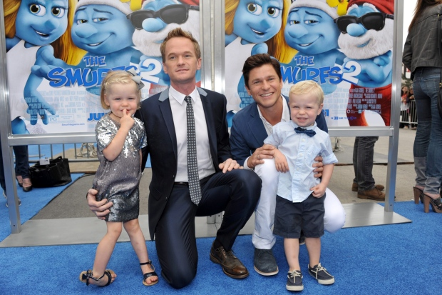 David Burtka Neil Patrick Harris Kids 2015