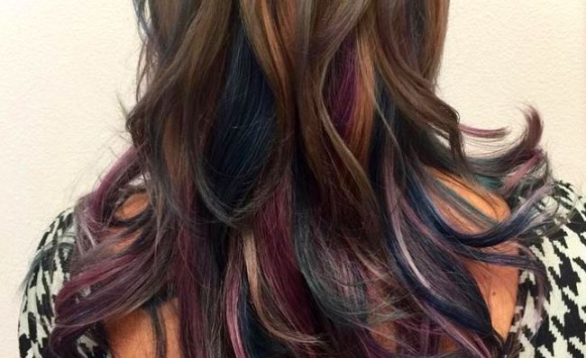 Oil Slick Hair Shemazing