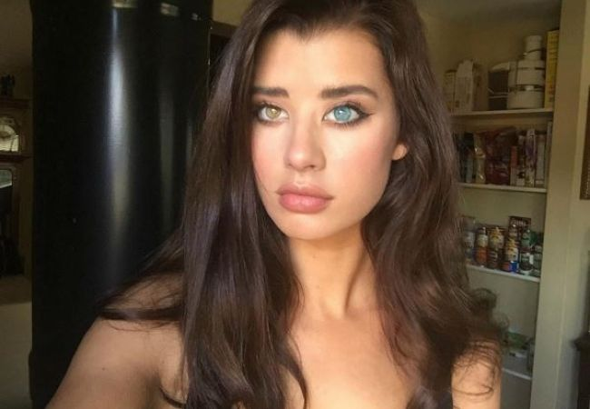sarah mcdaniel is the model that the inter  is now