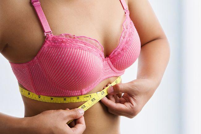 Как увеличить и сделать грудь больше в домашних условиях