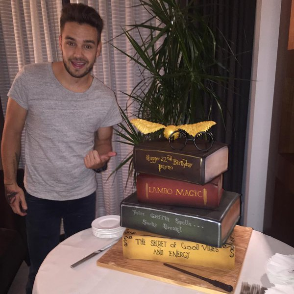 The biggest Harry Potter shrine? It's in Liam Payne's back ...