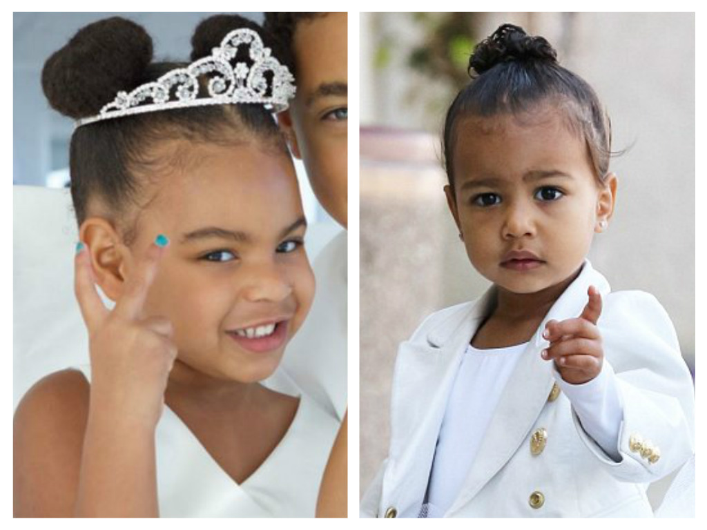 Aaaw Blue Ivy Just Totally Overtook North West In The