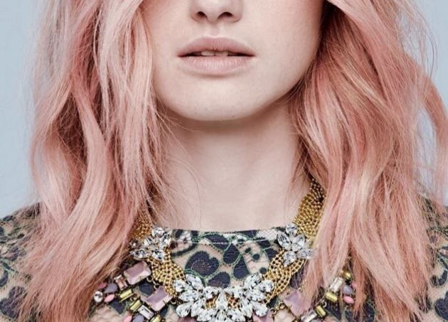 Rose gold HAIR! This is the most magical Instagram beauty