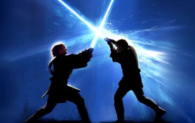 You can now add a little light saber to your Facebook ...