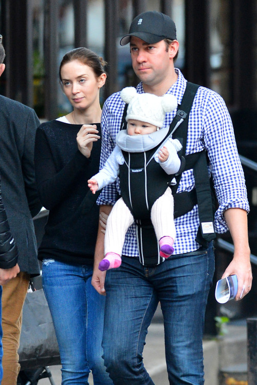 baby number two emily blunt is pregnant again with john