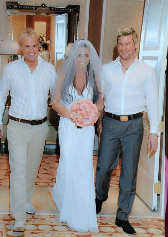 It Is Thought That The Dress One She Wore For Her Marriage Reception To Alex Reid In 2010 Although S Not Specified