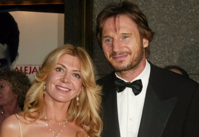 6 years on liam neeson shares cherished memory about late for Natasha richardson liam neeson wedding