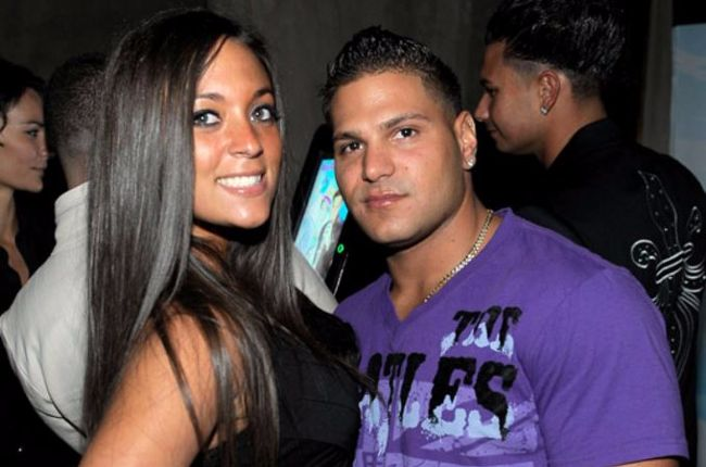 ron and sam jersey shore