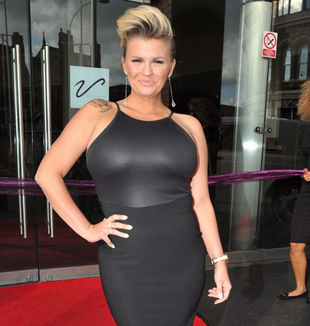 What?? Kerry Katona says that she REJECTED Colin Farrell years ago
