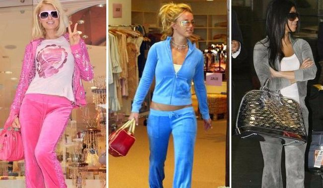 Flashback Friday Juicy Couture Tracksuits Are Making A Comeback