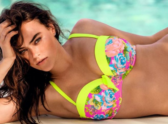 b1573b098be Not AGAIN! Twitter in a huff over Calvin Klein s first  Plus-Size  model