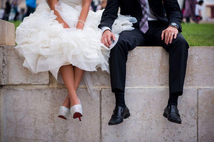 164abda2f15a This bride had VEGAN Louboutins made for her €100K Paris wedding ...