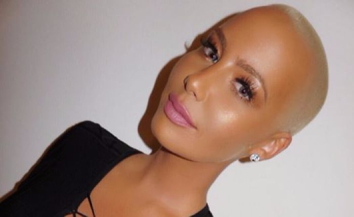You Won T Believe What Amber Rose Looks Like With Long Brown Hair Shemazing