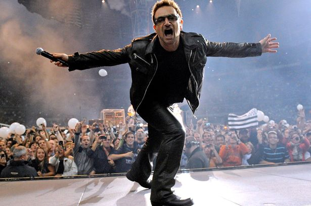 Wahey! Bono announces there's ANOTHER U2 tour on the way