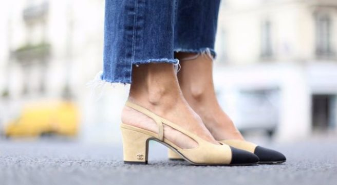 d1750ac18015 Love these Chanel heels  Well we ve found a fab DUPE for less than ...