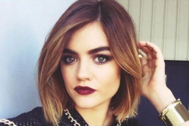 Lucy Hale Is Embracing Her Dark Side With Her Latest Hair Change Shemazing